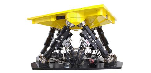 Hydraulische Simulationsplattformen von Moog für Testanwendungen
